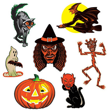 Vintage Halloween Classic Cutouts picture