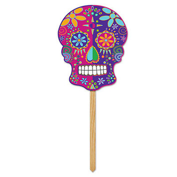 Day Of The Dead Yard Sign picture