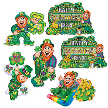 St Patrick's Day Cutouts picture