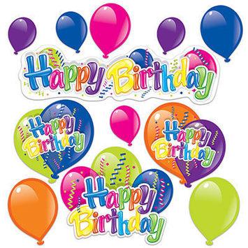 Happy Birthday Cutouts picture
