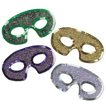 Sequin-Lame Half Masks picture
