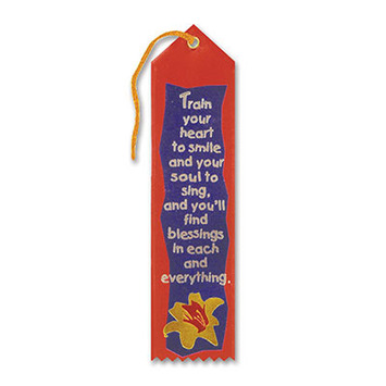 Train Your Heart To Smile Ribbon picture