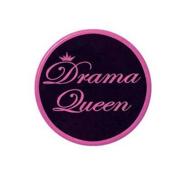 Drama Queen Button picture