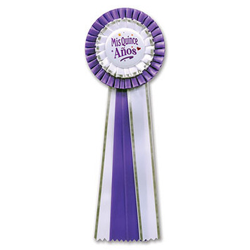 Mis Quince Anos Deluxe Rosette picture