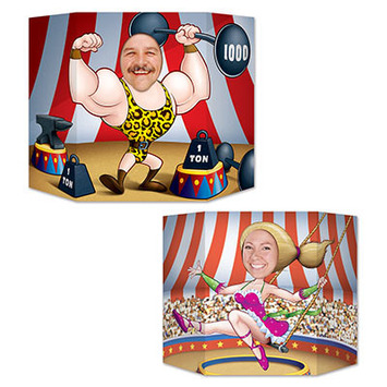 Circus Couple Photo Prop picture