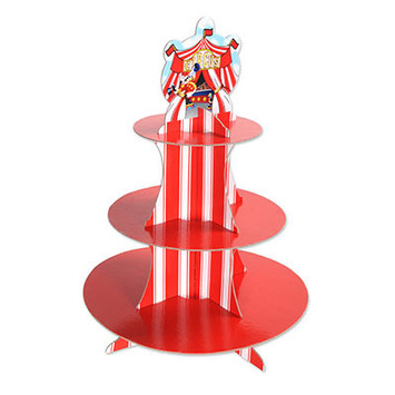 Circus Tent Cupcake Stand picture