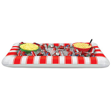Inflatable Red&White Stripes Buffet Clr picture
