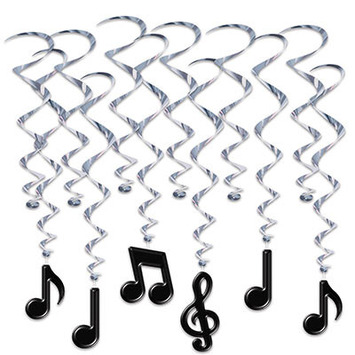 Musical Notes Whirls picture