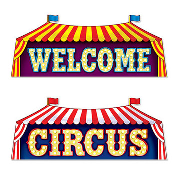 Circus Sign Cutouts picture