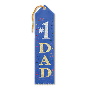 #1 Dad Award Ribbon picture