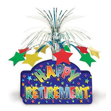 Happy Retirement Centerpiece picture