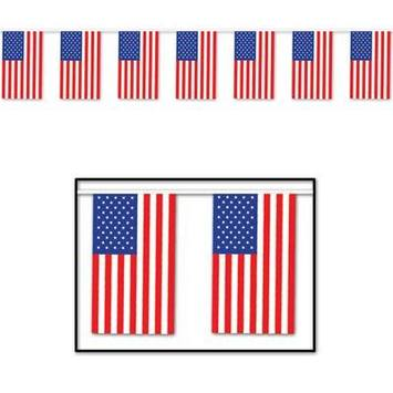 American Flag Pennant Banner picture