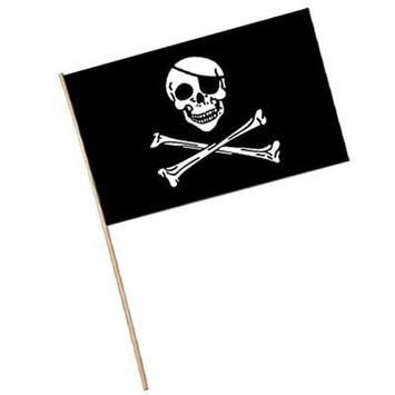 Pirate Flag - Plastic picture