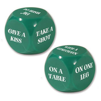 St Patrick Decision Dice Game picture