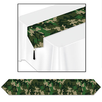 Printed Camo Table Runner picture