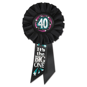40 It's The Big One Rosette picture