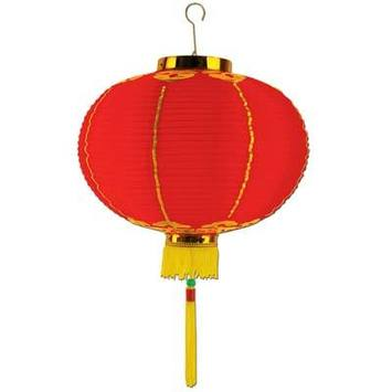 Good Luck Lantern w/Tassel picture