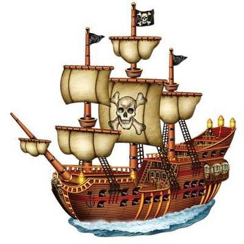 Jointed Pirate Ship picture