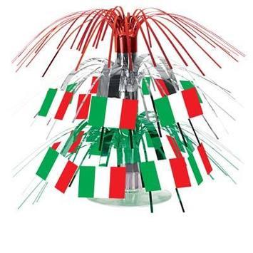 Italian Flag Mini Cascade Centerpiece picture