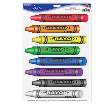 Crayons Peel 'N Place picture