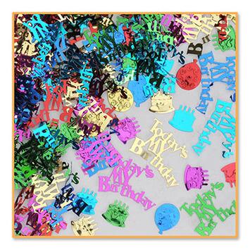 Today's My Birthday Confetti picture