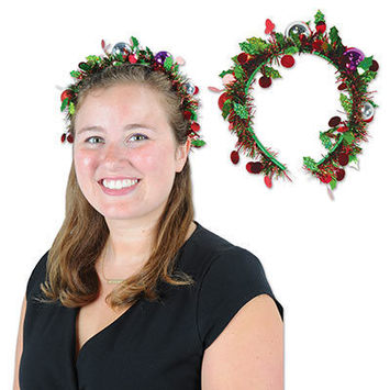 Holiday Tinsel Garland Headband picture