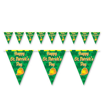Happy St Patrick's Day Pennant Banner picture