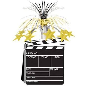 Movie Set Clapboard Centerpiece picture