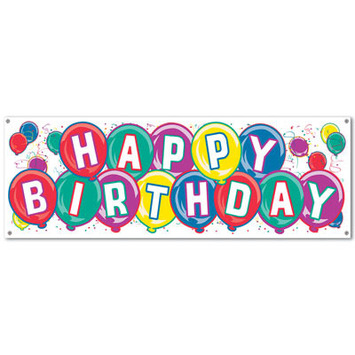 Happy Birthday Sign Banner picture