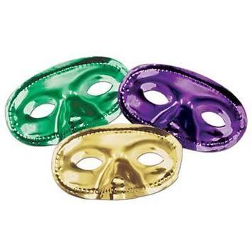 Metallic Half Masks picture