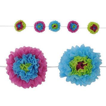 Tissue Flower Garland picture