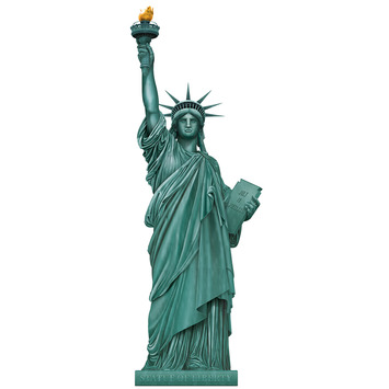 Jointed Statue Of Liberty picture