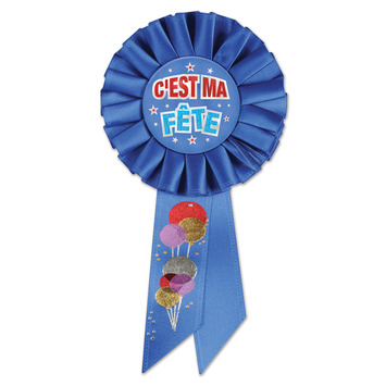 C'est Ma Fete (Birthday Boy) Rosette picture