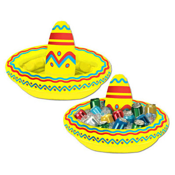 Inflatable Sombrero Cooler picture