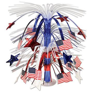 Flag Cascade Centerpiece picture