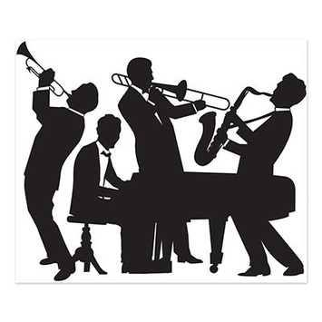 Great 20's Jazz Band Insta-Mural picture