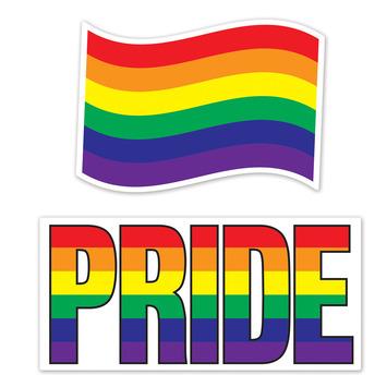 Jumbo Rainbow Cutouts picture