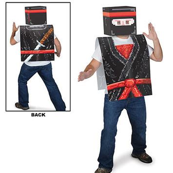 Plastic 8-Bit Ninja Vest picture