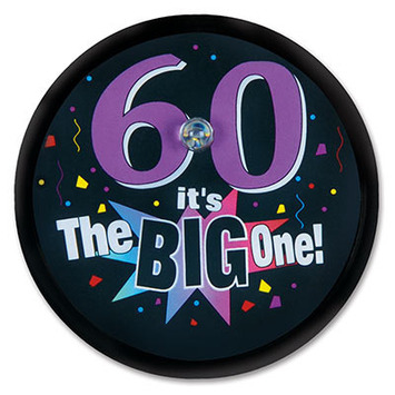 60 It's The Big One Blinking Button picture