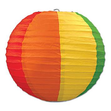 Rainbow Paper Lanterns picture