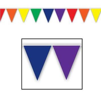 Rainbow Pennant Banner picture