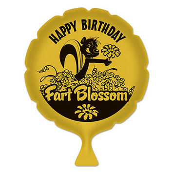 Birthday Fart Blossom Whoopee Cushion picture
