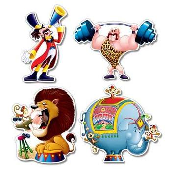 Circus Cutouts picture