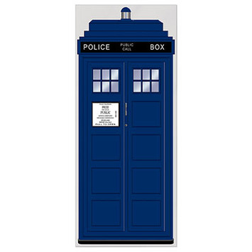 Police Call Box Door Cover picture