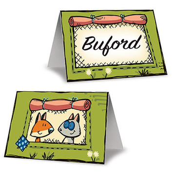 Woodland Friends Place Cards picture