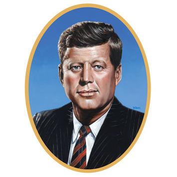 John F Kennedy Cutout picture