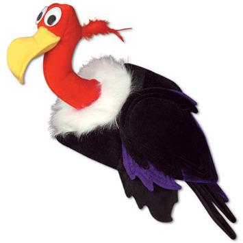 Plush Vulture Hat picture