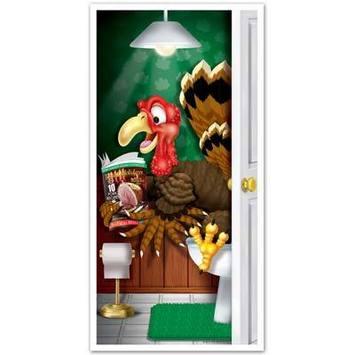 Turkey Restroom Door Cover picture