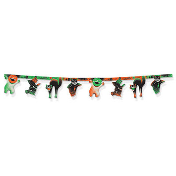Vintage Halloween Jointed  Streamer picture