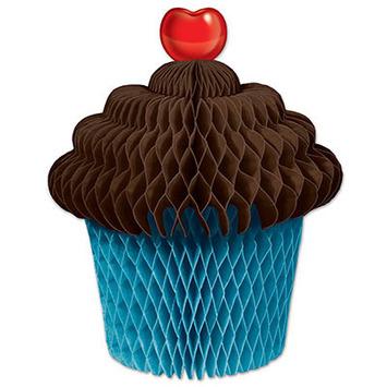 Tissue Cupcake Centerpiece picture